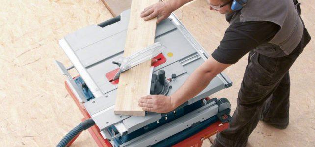 Die Tischkreissäge – wenn es präziser werden muss
